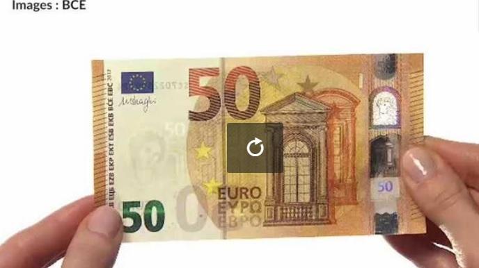 Voici pourquoi le nouveau billet de 50 euros est si complexe à falsifier