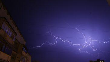 Les orages arrivent sur l'Occitanie et Toulouse