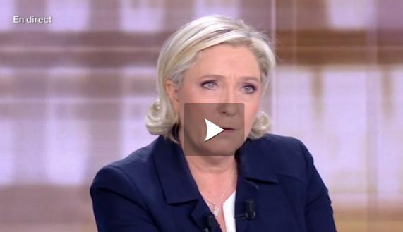 Macron a tutoyé Le Pen pendant le débat présidentiel