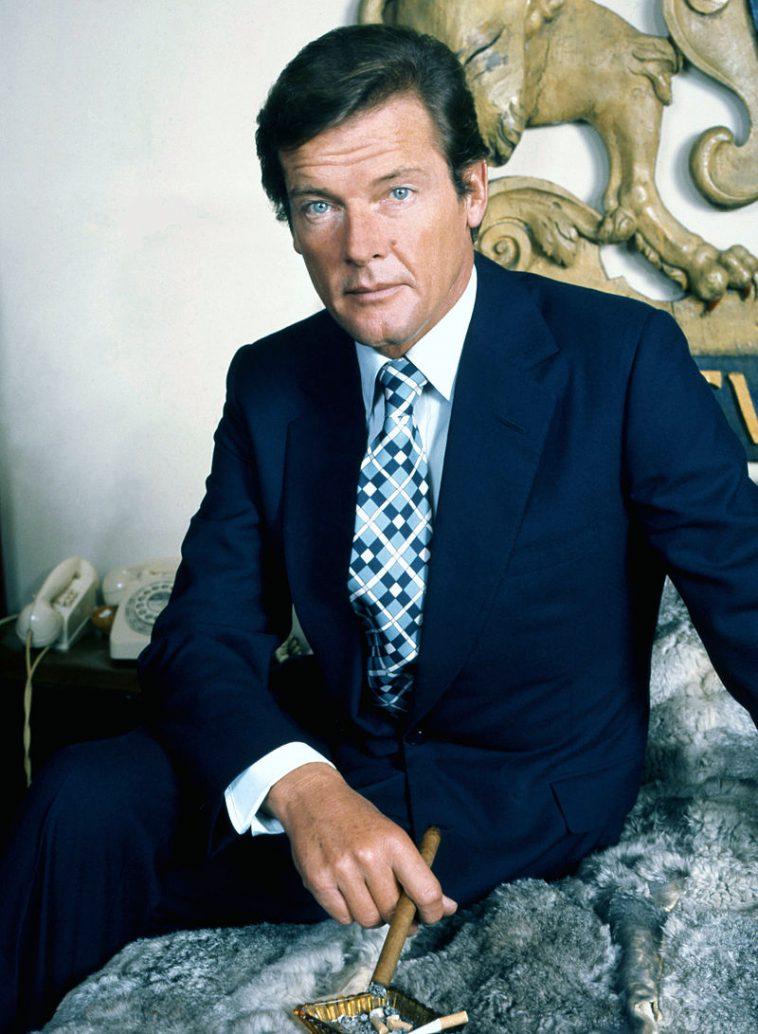 Roger Moore. le Saint, Amicalement Votre, James Bond, itinéraire d'une étoile