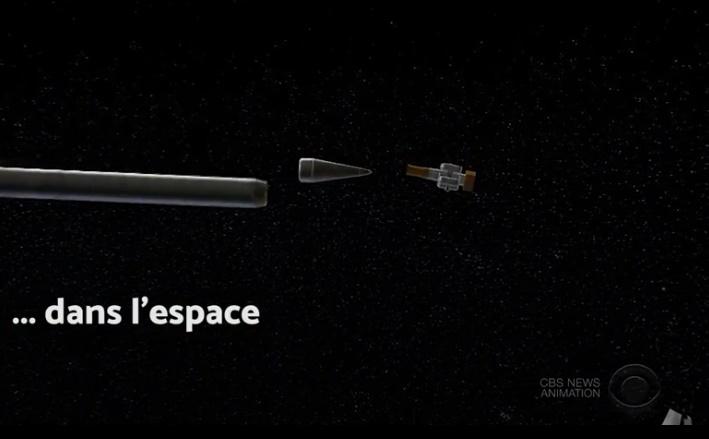 Vidéo - USA : interception dans l'espace de missile balistique intercontinental