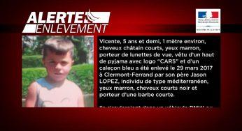 Vicente enlevé par son père retrouvé à Toulouse