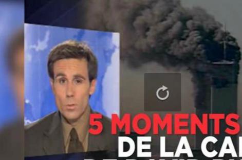 David Pujadas. clap de fin sur le journal de 20h de France2