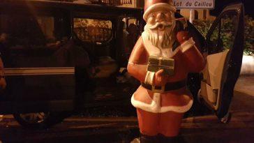 Insolite. Un Père Noël volé lors des fêtes de Vic Fezensac