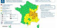 La canicule concerne encore 13 départements du centre est de la France