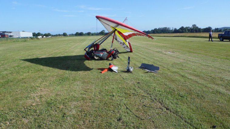 Tarbes. le pilote d'ULM indemne après un crash