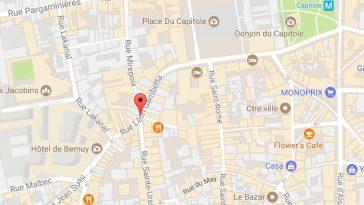 Toulouse. colis suspect Rue Gambetta, le périmètre est bouclé