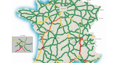 Circulation. Week classé rouge orange sur les routes de France