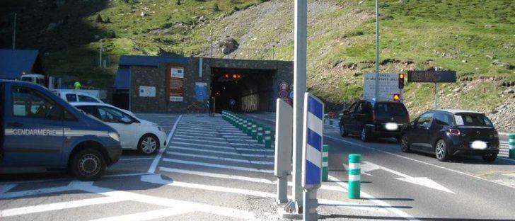 Contrôles renforcés au tunnel d'Aragnouet