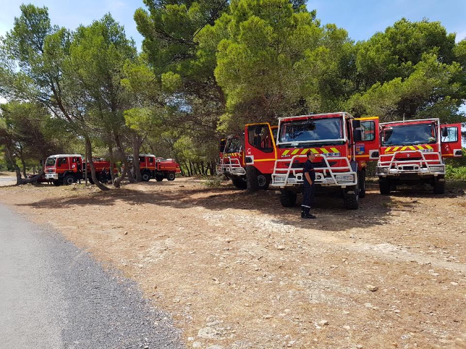 Les pompiers de la région en renfort dans le Var et le Vaucluse