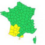 Orages. les Hautes Pyrénées, le Gers et la Haute Garonne en alerte
