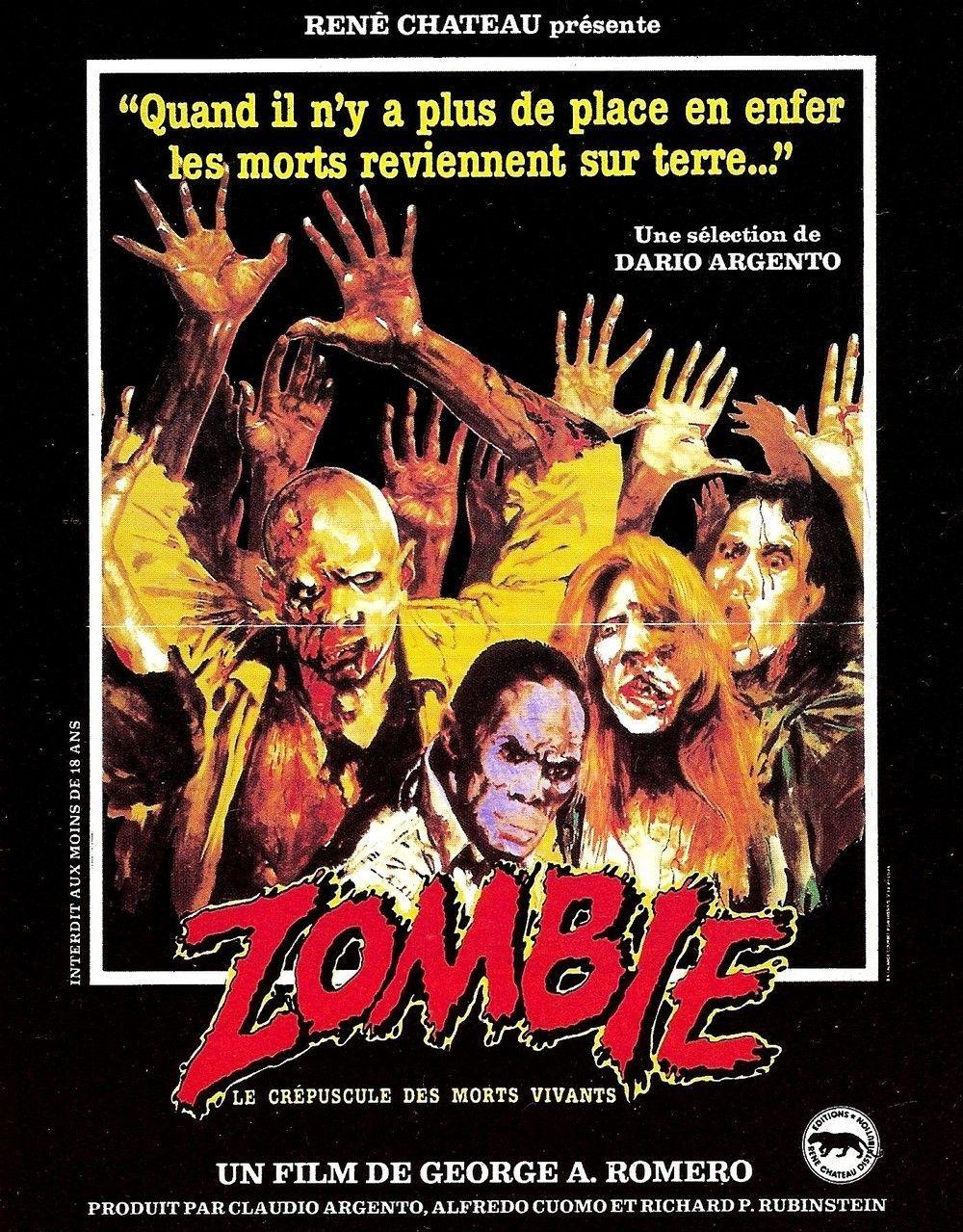 Romero père des films de Zombie est mort