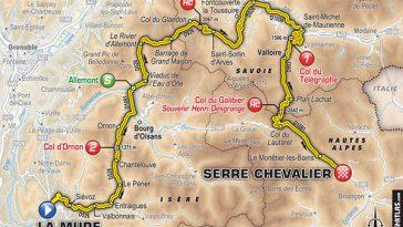 Tour de France étape 17. La Mure Serre Chevalier, les Alpes en juge de Paix