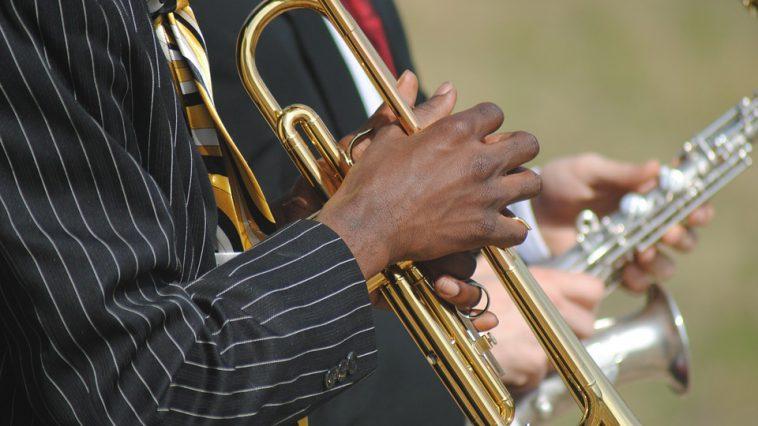la foule pour l'ouverture du 40e festival Jazz in Marciac