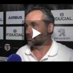 Hugo Mola satisfait après la victoire du Stade Toulousain à Brive