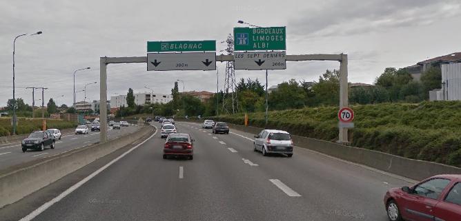 Toulouse. 1 mort dans un accident de la route, le fil d'Ariane et l'accès à Blagnac difficile
