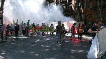 Forte mobilisation à Toulouse pour la défense des services publics