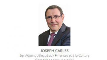 Joseph Carles élu nouveau Maire de Blagnac