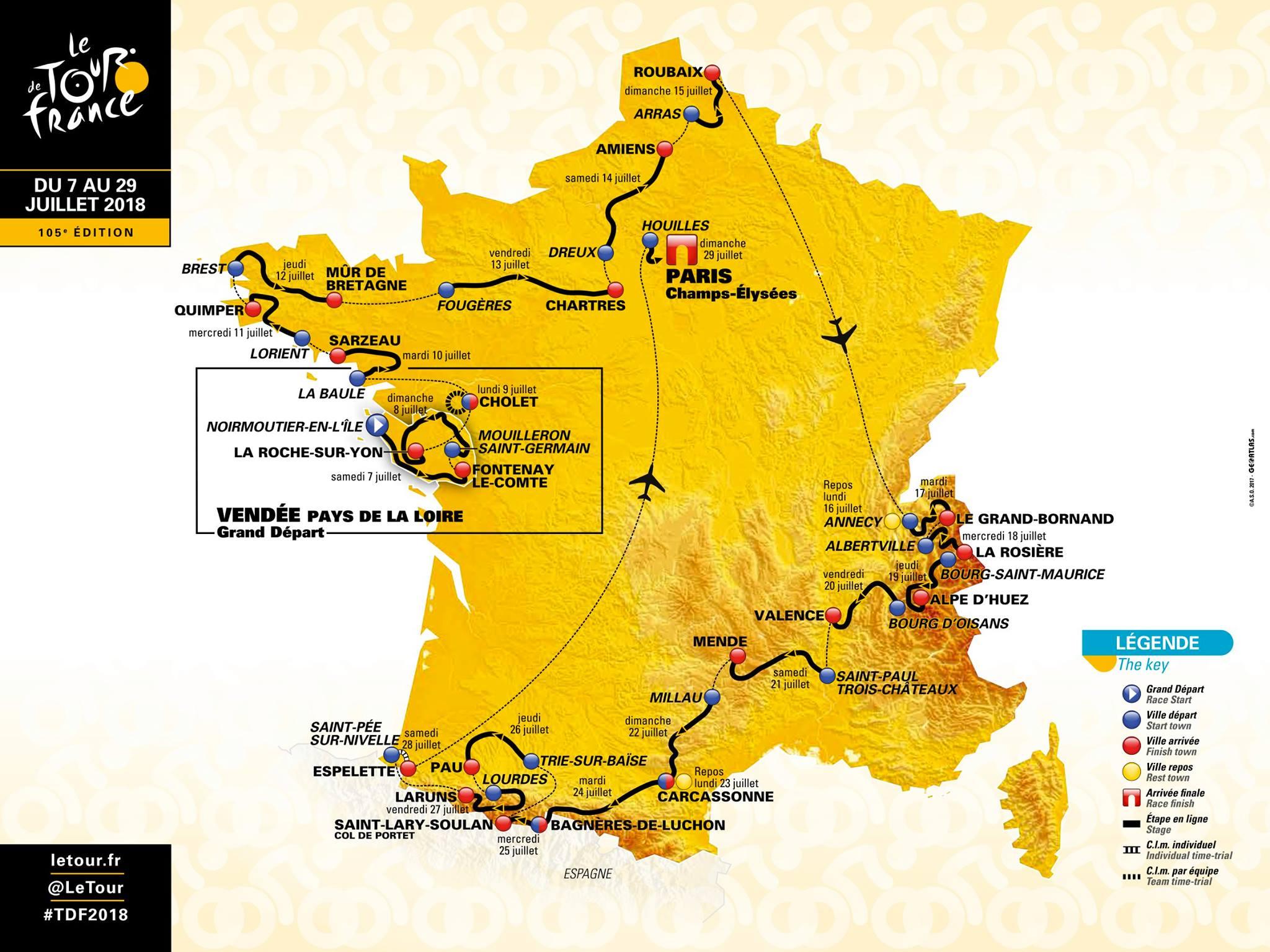 Le Tour de France 2018 se jouera bien en Occitanie