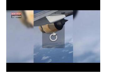 Un Airbus 380 atterrit en urgence, les dégâts filmés