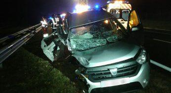 A contresens sur l'A68 Albi Toulouse, un conducteur provoque un carambolage