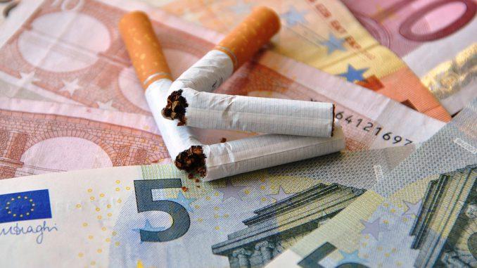 Cigarettes hausse de 30 centimes d'euros par paquet la semaine prochaine