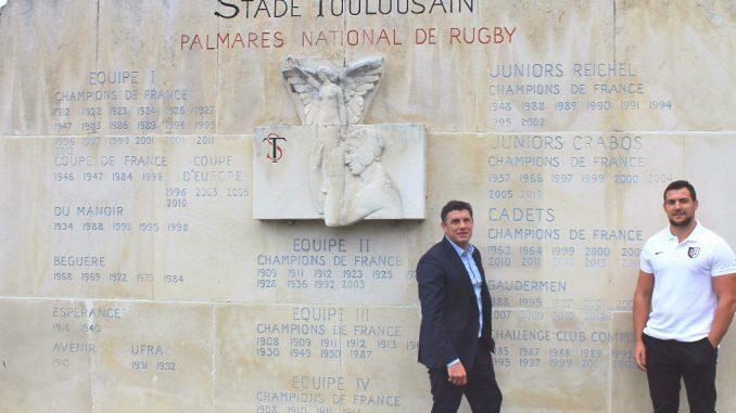 François Cros, grand espoir du rugby Français, prolonge au Stade Toulousain