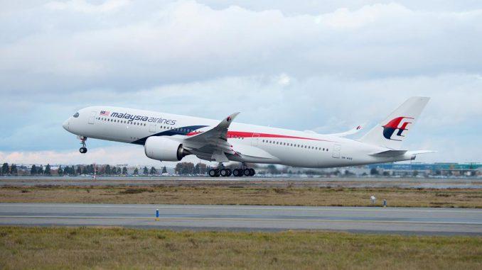 Malaysia Airlines a pris livraison de son premier Airbus A350