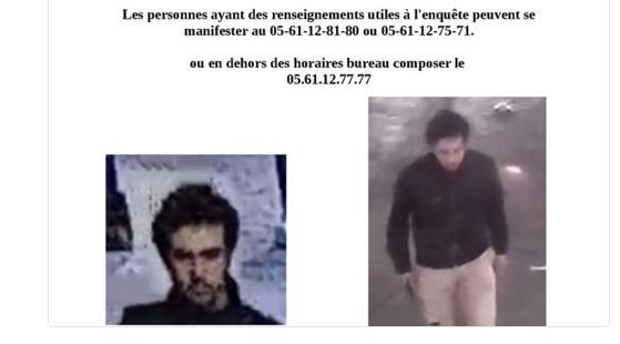 Toulouse. la police lance un Avis de Recherche