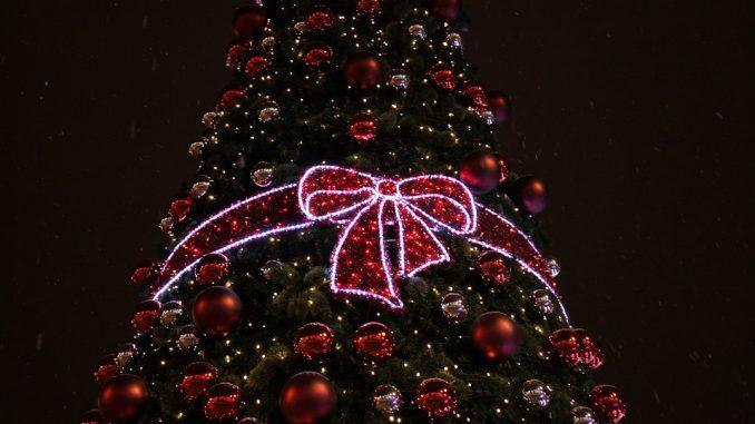 Alerte sur le risque d'incendie de sapin de Noël
