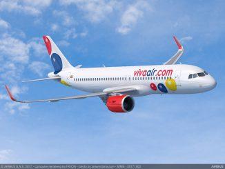 La compagnie Sud Américain Viva Air confirme une commande de 50 Avions Airbus