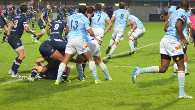 Rugby Top14. Le Racing 92 bat Toulouse 23 à 19