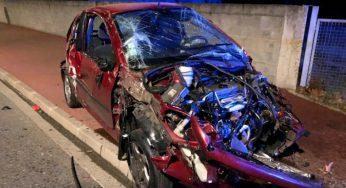 Toulouse Cugnaux. Indemne, miraculé après un très violent accident de la route