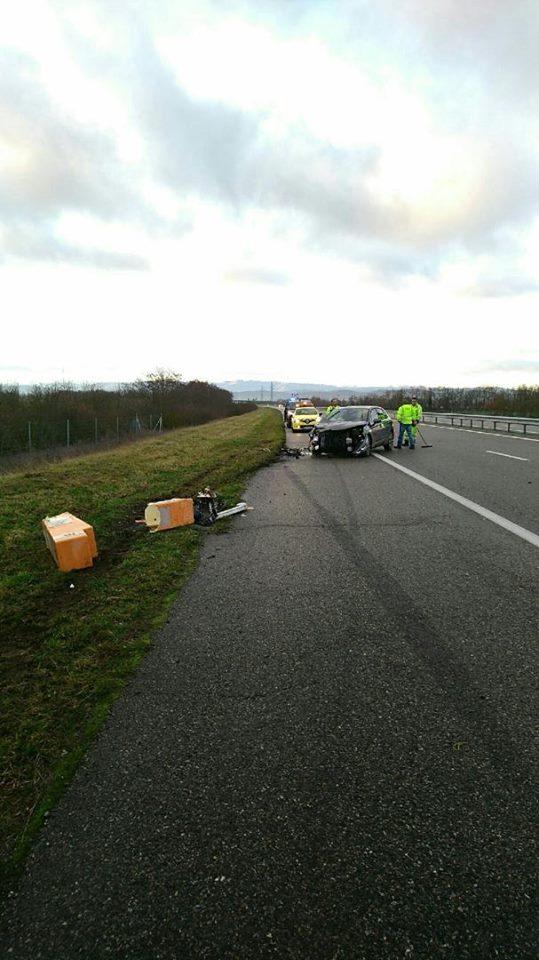 Accident sur l'autoroute Toulouse Pamiers, difficultés de circulation à Nailloux