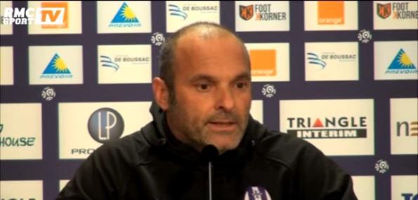 Le Toulouse FC et Dupraz, l'inquiétude