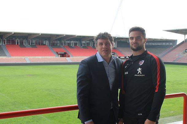 Lucas Tauzin au Stade Toulousain jusqu'en 2021