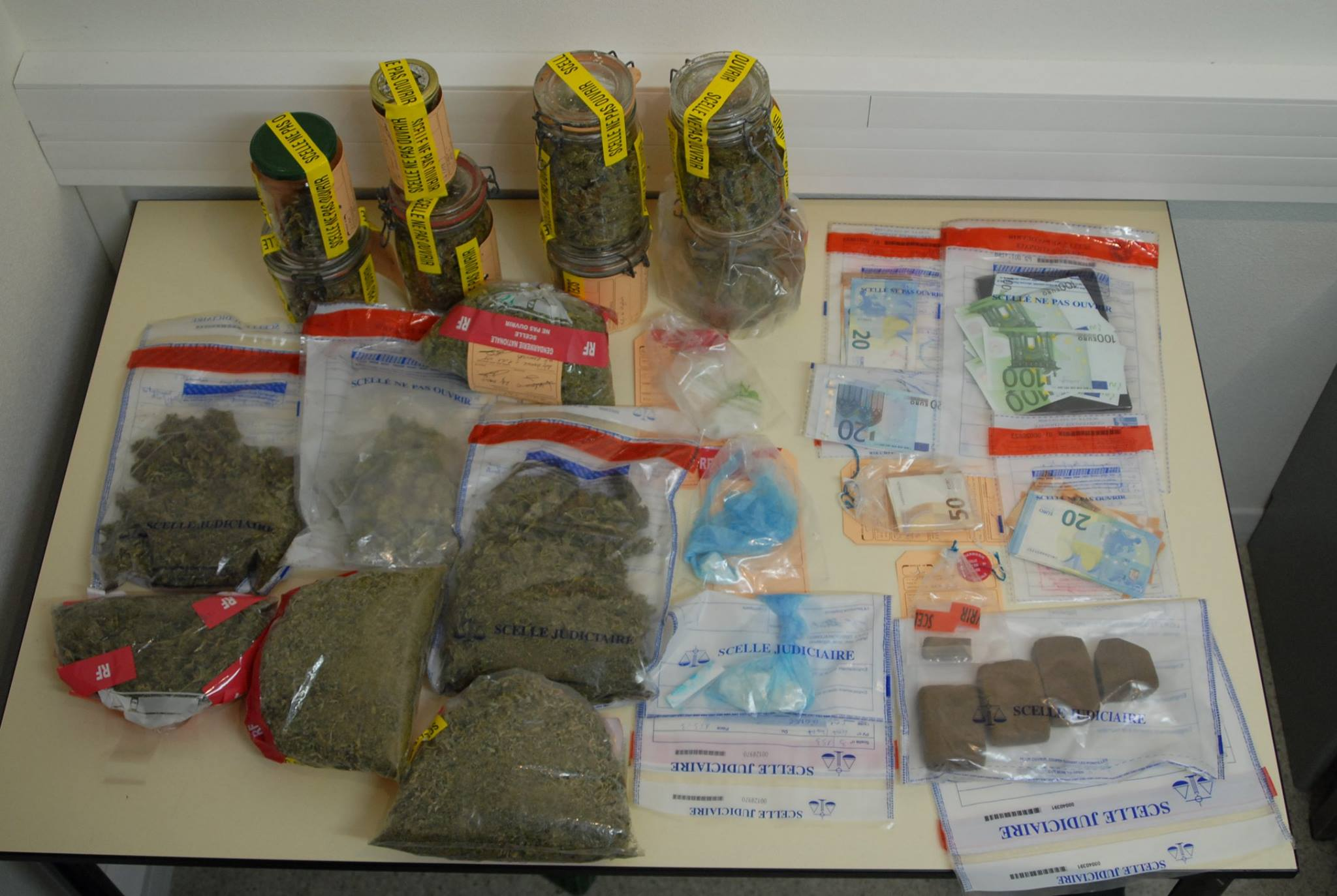 Un trafic de cocaïne et cannabis démantelé dans les Pyrénées, 12 personnes arrêtées