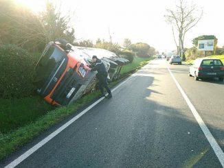Impressionnant accident de la route à l'ouest de Toulouse