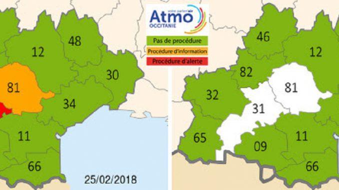 Vitesse réduite de 20 km/h en Haute-Garonne — Pollution