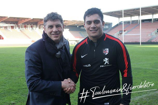 Rugby. Selevasio Tolofua au Stade Toulousain jusqu'en 2021