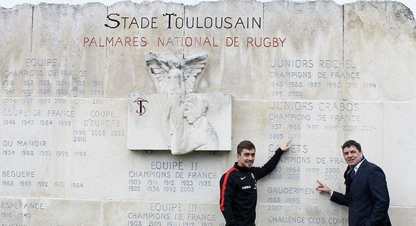 Anthony Méric arrive comme joker médical d'Antoine Dupont — Stade Toulousain