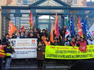 Tarbes. une manifestation pour défendre Vallourec et l'emploi industriel