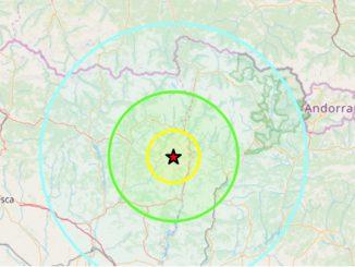 Tremblement de terre de 4.1 dans les Pyrénées