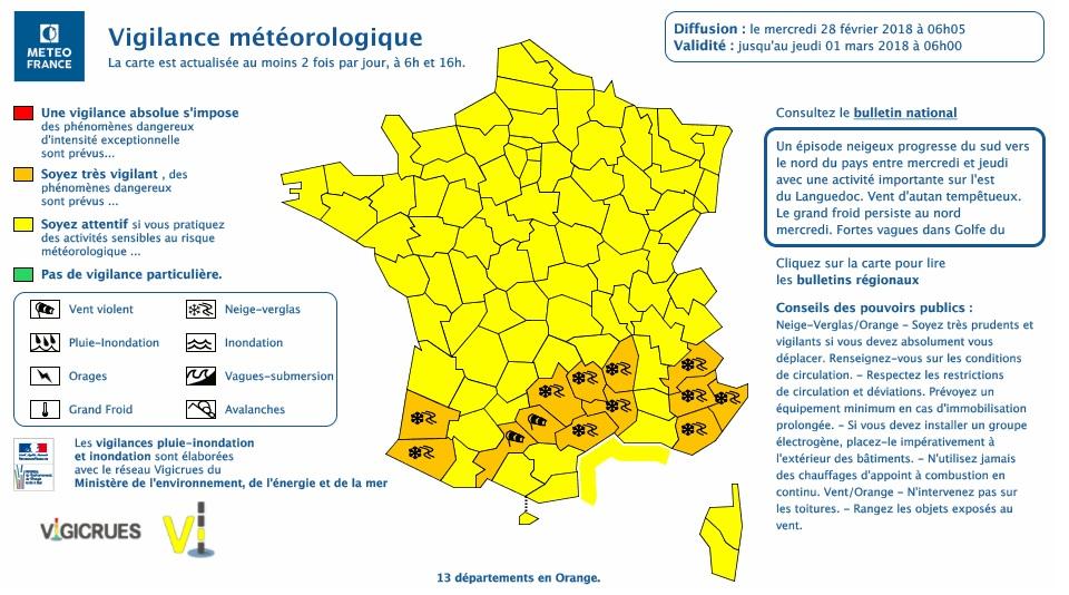 Vents violents. Toulouse et la Haute Garonne en alerte vigilance orange