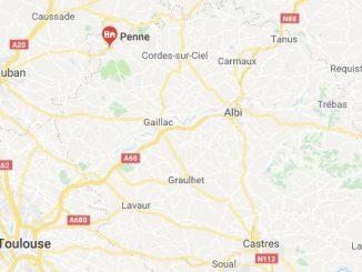 Un motard mort dans un accident de la route à Penne dans le Tarn