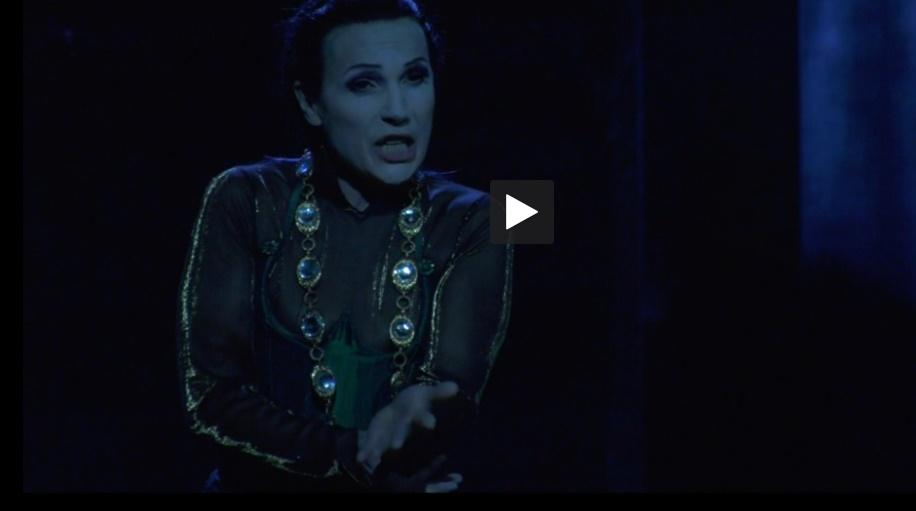 Béatrice Uria Monzon en Lady Macbeth au théâtre du Capitole de Toulouse