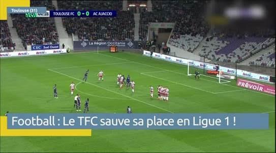 Le Toulouse Football Club se maintient en ligue1
