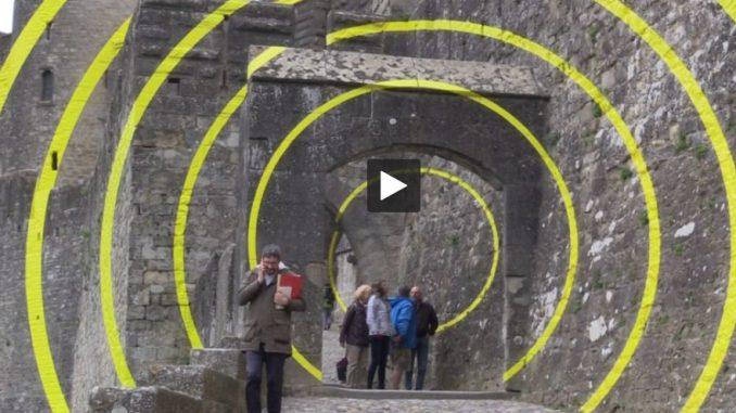 Les cercles de Varini, l'expo qui interroge Carcassonne