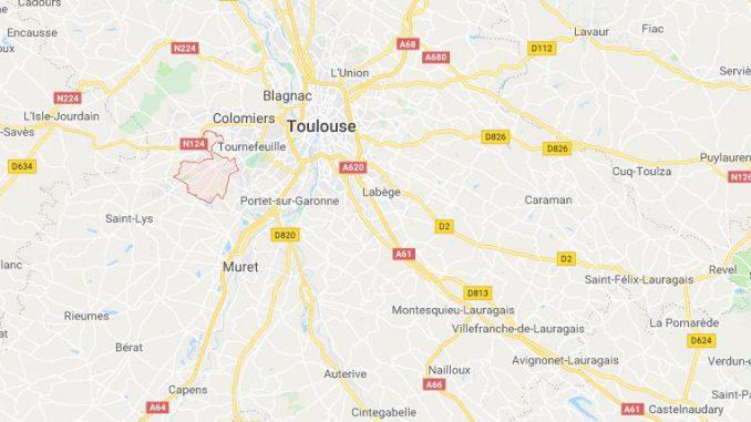 Mort accident route ouest Toulouse Plaisance du Touch