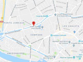Mort d'un motard en plein centre de Toulouse lundi soir